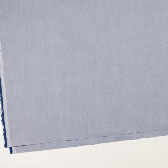 コットン×無地(ブルー)×ヘリンボーン サムネイル2