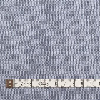 コットン×無地(ブルー)×ヘリンボーン サムネイル4