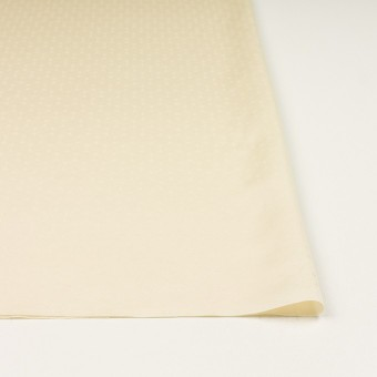 コットン&シルク混×サークル(クリーム)×サテンジャガード サムネイル3