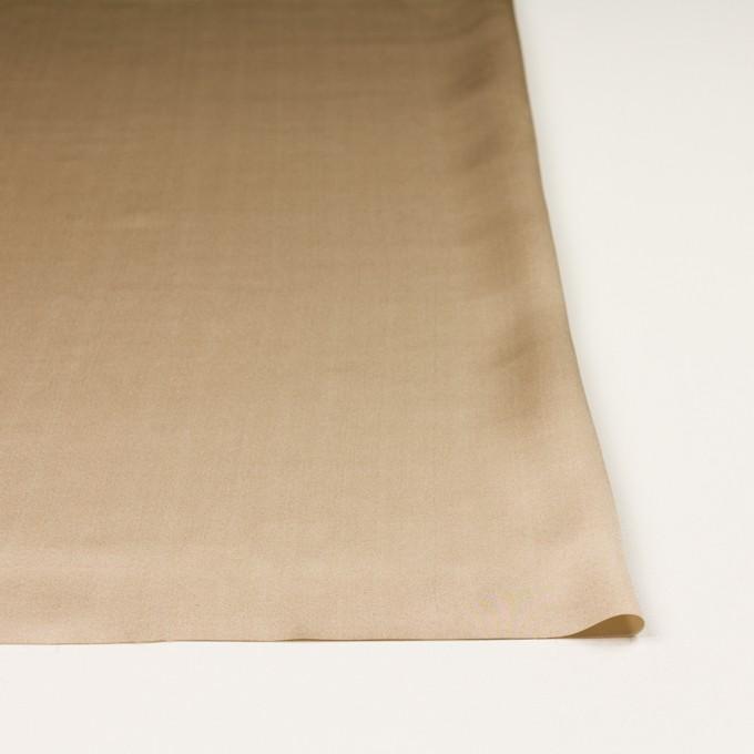 シルク×無地(シャンパンゴールド)×サテン イメージ3