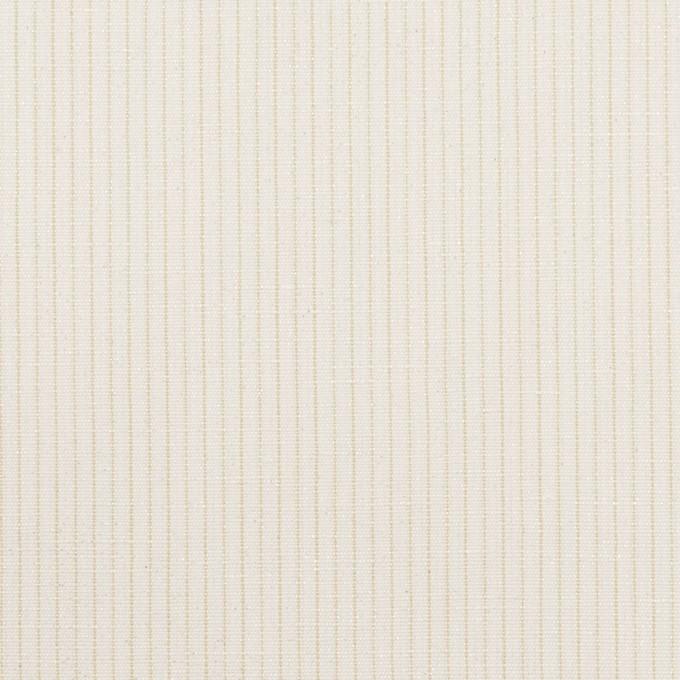 コットン&リネン×ストライプ(ミルク)×ポプリン_全2色 イメージ1