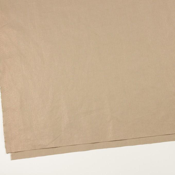 コットン&リネン×ストライプ(セピア)×ポプリン_全2色 イメージ2