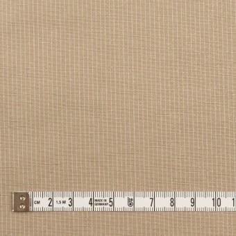 コットン&リネン×ストライプ(セピア)×ポプリン_全2色 サムネイル4
