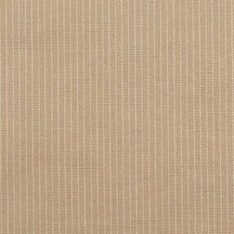 コットン&リネン×ストライプ(セピア)×ポプリン_全2色