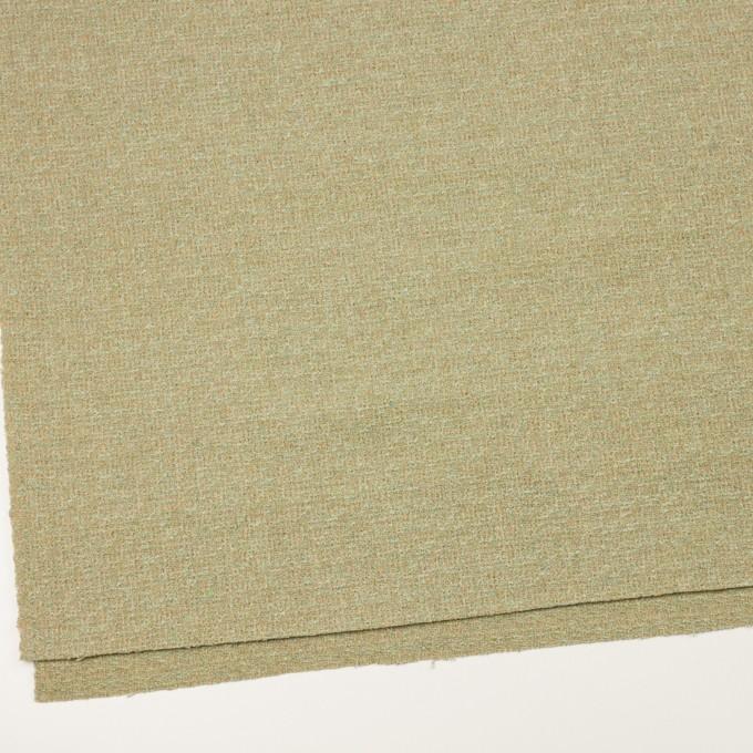 ウール&ポリエステル×ミックス(ミントグリーン)×ファンシーツイード_全2色 イメージ2