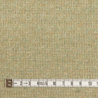 ウール&ポリエステル×ミックス(ミントグリーン)×ファンシーツイード_全2色 サムネイル4