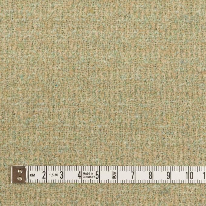 ウール&ポリエステル×ミックス(ミントグリーン)×ファンシーツイード_全2色 イメージ4
