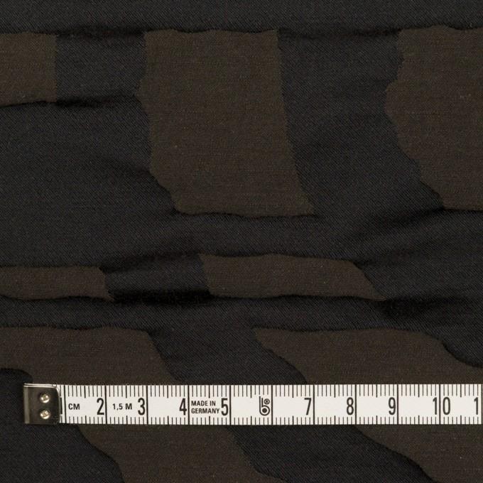 コットン&ポリエステル×幾何学模様(アッシュブラウン)×二重ジャガード_パネル イメージ4