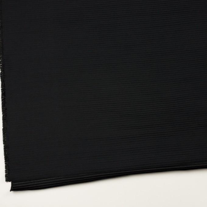 ポリエステル&アクリル×ボーダー(ブラック)×二重ジャガード イメージ2