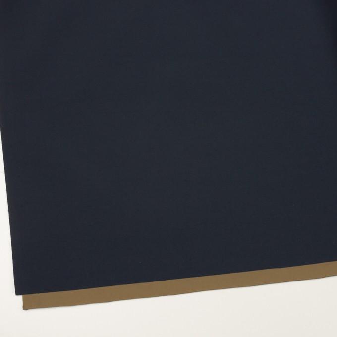 ナイロン&ポリウレタン×無地(ダークネイビー&カーキ)×Wフェイスタフタ・ストレッチ イメージ2