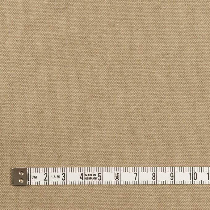 コットン&リネン×無地(カーキ)×厚オックスフォード イメージ4