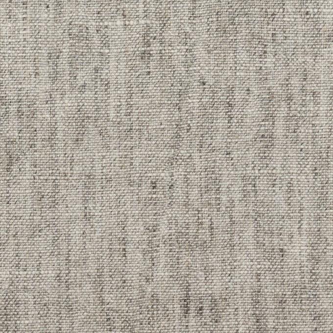 ラミー&リネン×無地(ライトグレー)×キャンバス イメージ1
