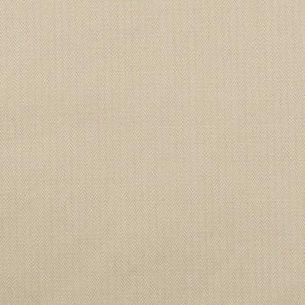 コットン×無地(サンドベージュ)×ヘリンボーン・ワッシャー_イタリア製