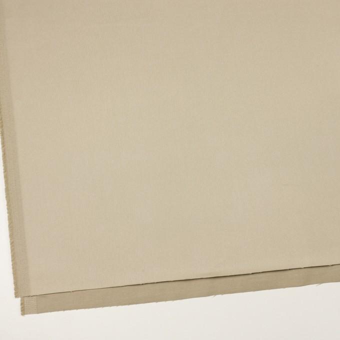 コットン&ポリウレタン×無地(サンドベージュ)×サテンストレッチ イメージ2