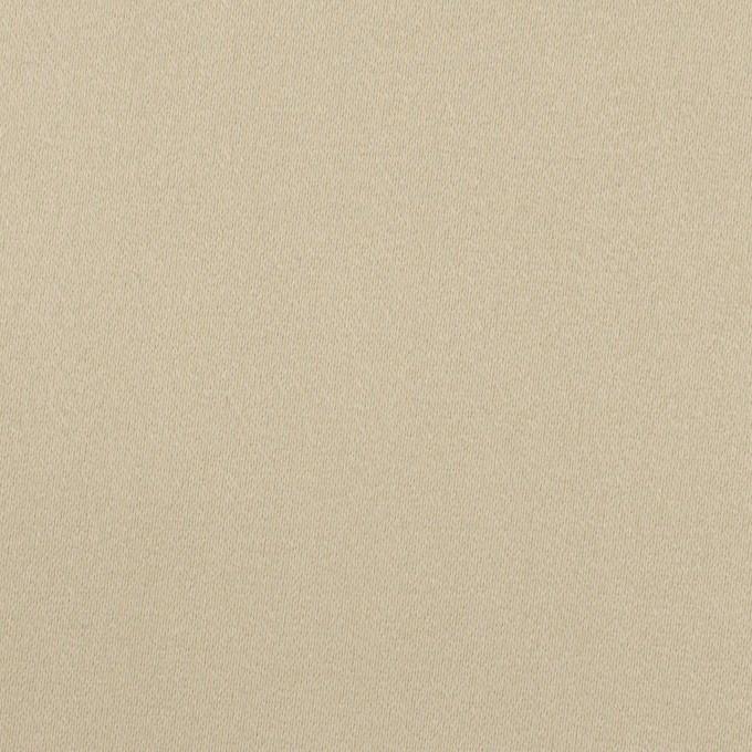 コットン&ポリウレタン×無地(サンドベージュ)×サテンストレッチ イメージ1