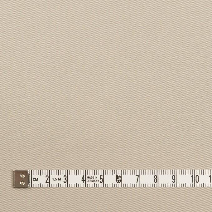 コットン&ポリウレタン×無地(オイスター)×チノクロス・ストレッチ イメージ4