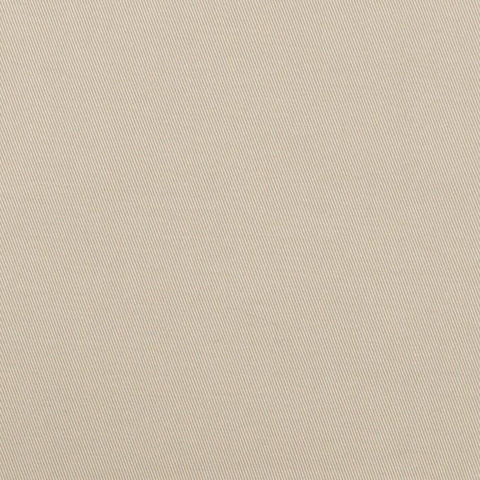 コットン&ポリウレタン×無地(オイスター)×チノクロス・ストレッチ イメージ1