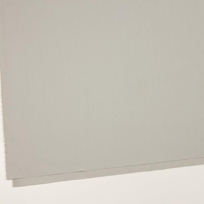 コットン&ポリアミド混×無地(スチール)×ブロードストレッチ_イタリア製 イメージ2