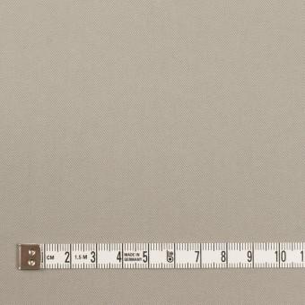 コットン×無地(ストーングレー)×サージ_イタリア製 サムネイル4