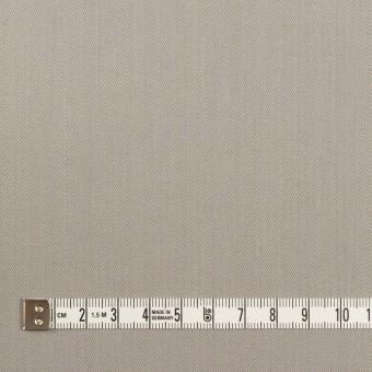 コットン×無地(ストーングレー)×ヘリンボーン_イタリア製 サムネイル4