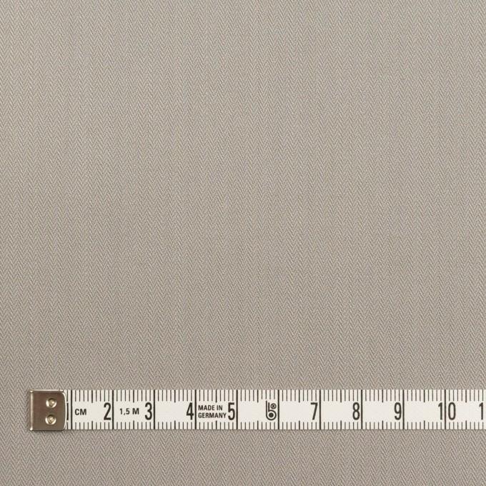 コットン×無地(ストーングレー)×ヘリンボーン_イタリア製 イメージ4