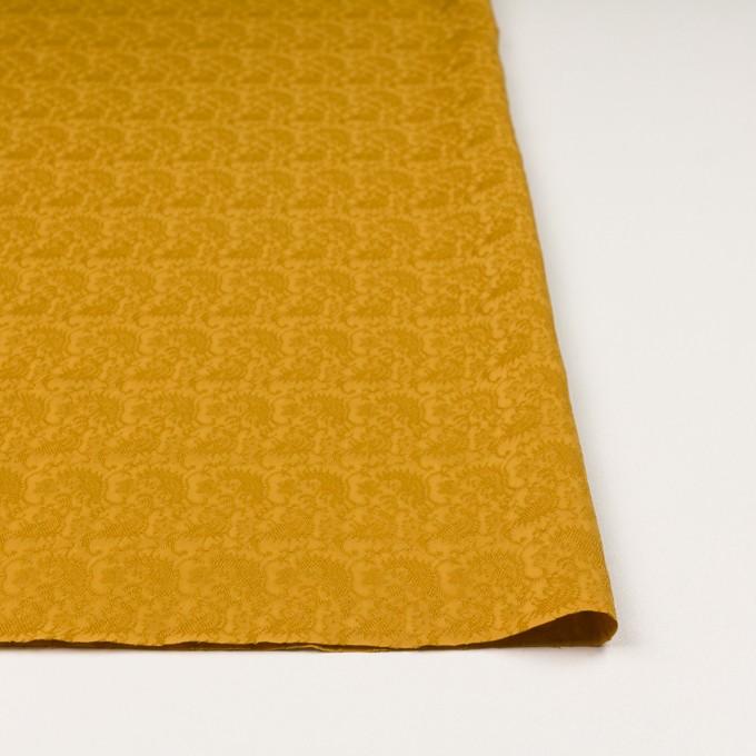 レーヨン&ナイロン×幾何学模様(ハニーゴールド)×ジャガード イメージ3