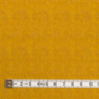 レーヨン&ナイロン×幾何学模様(ハニーゴールド)×ジャガード サムネイル4