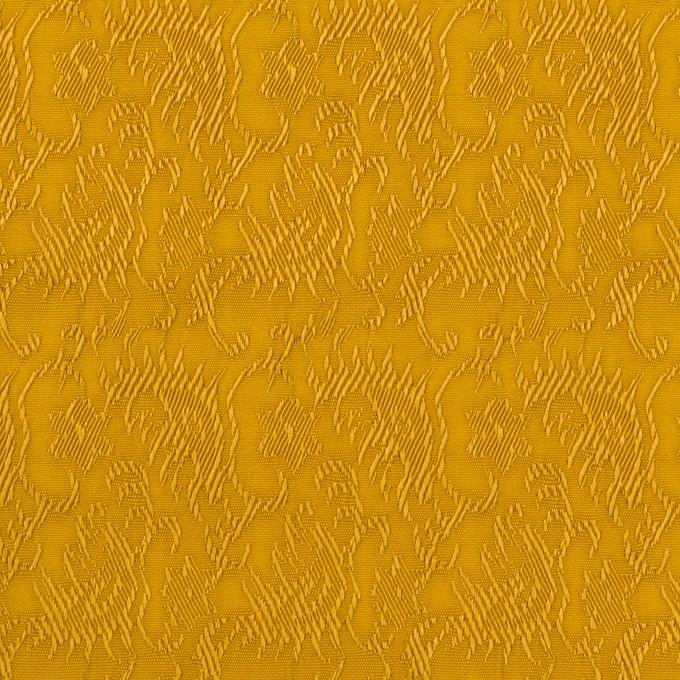 レーヨン&ナイロン×幾何学模様(ハニーゴールド)×ジャガード イメージ1