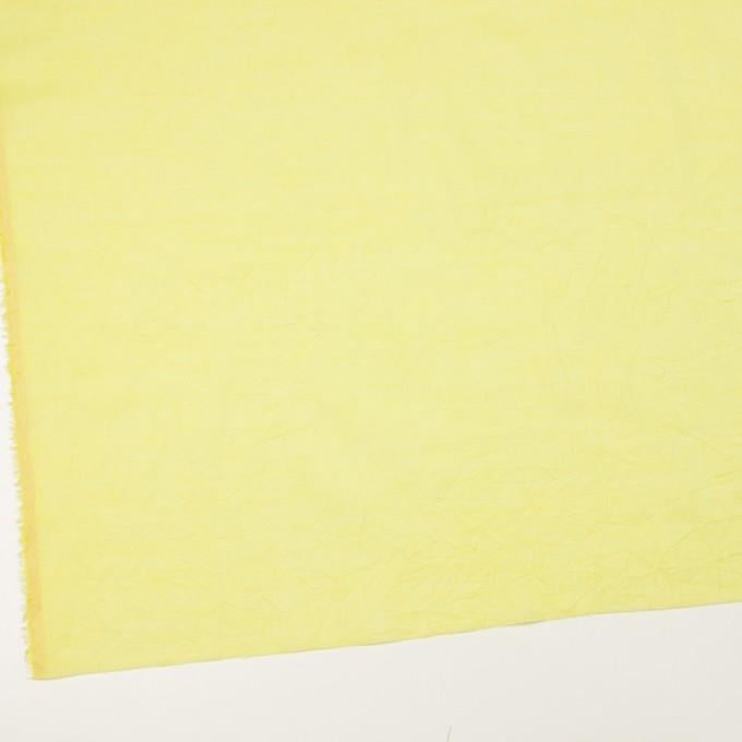 コットン&テンセル×無地(レモンイエロー)×ボイルワッシャー_全3色 イメージ2