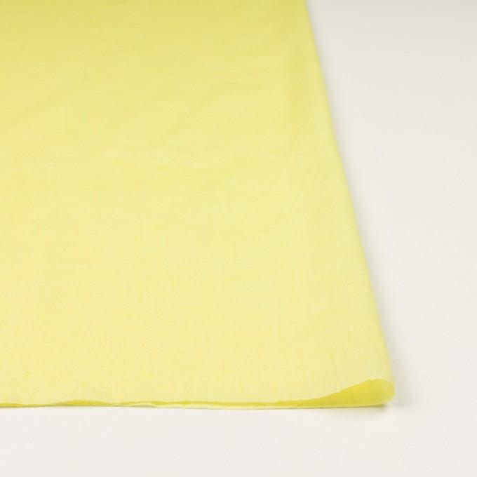 コットン&テンセル×無地(レモンイエロー)×ボイルワッシャー_全3色 イメージ3