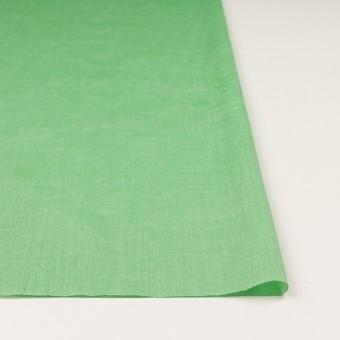 コットン&テンセル×無地(フレッシュグリーン)×ボイルワッシャー_全3色 サムネイル3