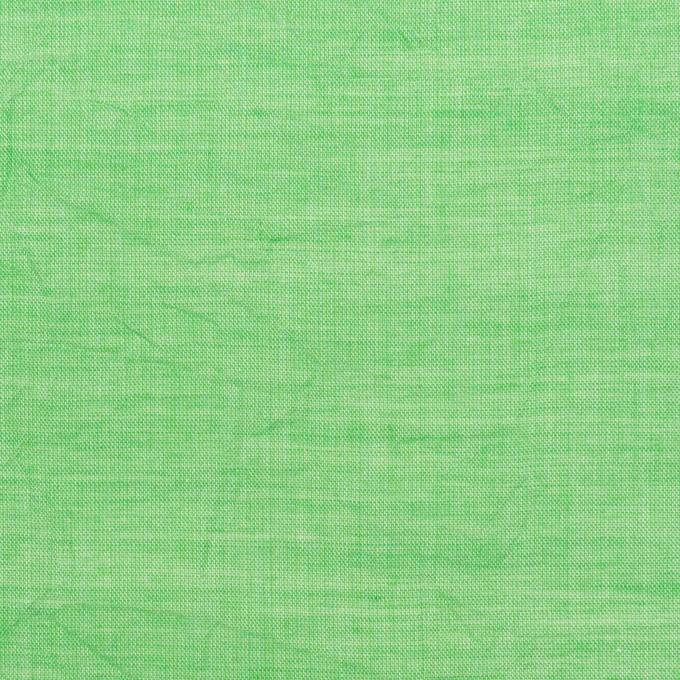 コットン&テンセル×無地(フレッシュグリーン)×ボイルワッシャー_全3色 イメージ1
