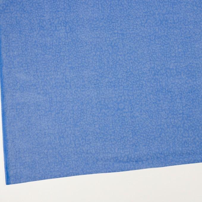 コットン×レオパード(ブルー)×ボイル イメージ2