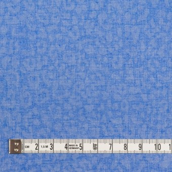 コットン×レオパード(ブルー)×ボイル サムネイル4