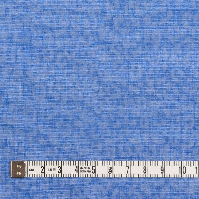 コットン×レオパード(ブルー)×ボイル イメージ4