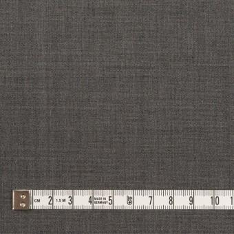 ウール&ポリウレタン×無地(チャコールグレー)×ポプリンストレッチ サムネイル4