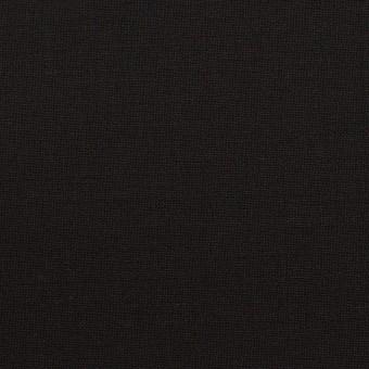 ウール&ポリウレタン×無地(ブラック)×ポプリンストレッチ
