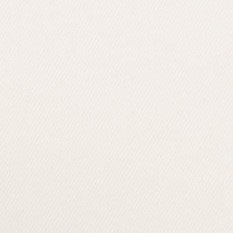 コットン&ポリウレタン×無地(オフホワイト)×カツラギストレッチ_イタリア製