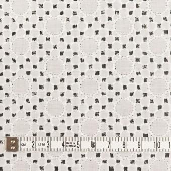 コットン×サークル(オフホワイト)×ローン刺繍_全3色 サムネイル4
