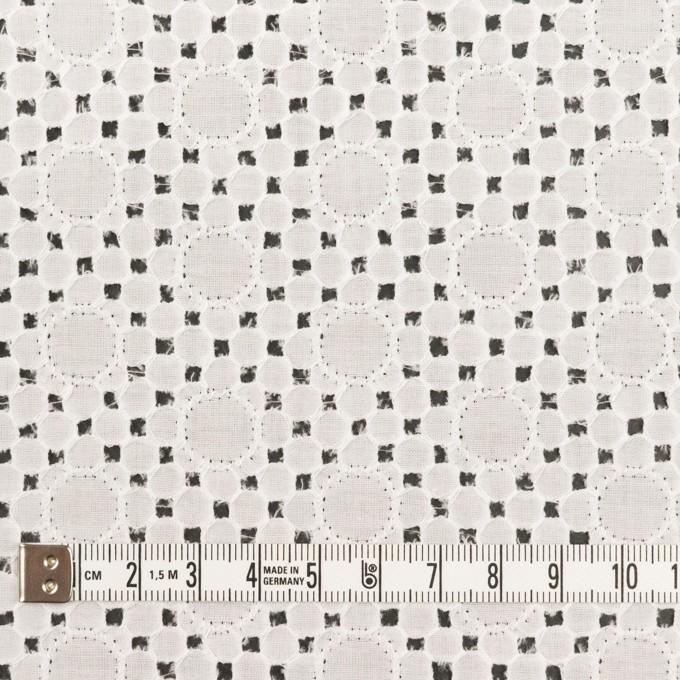コットン×サークル(オフホワイト)×ローン刺繍_全3色 イメージ4