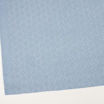 コットン×サークル(フロスティブルー)×ローン刺繍_全3色 サムネイル2