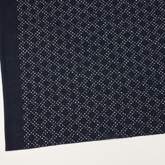 コットン×サークル(ダークネイビー)×ローン刺繍_全3色 サムネイル2