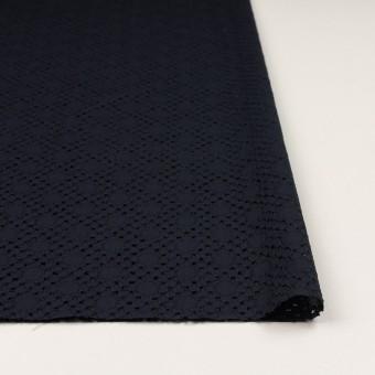 コットン×サークル(ダークネイビー)×ローン刺繍_全3色 サムネイル3