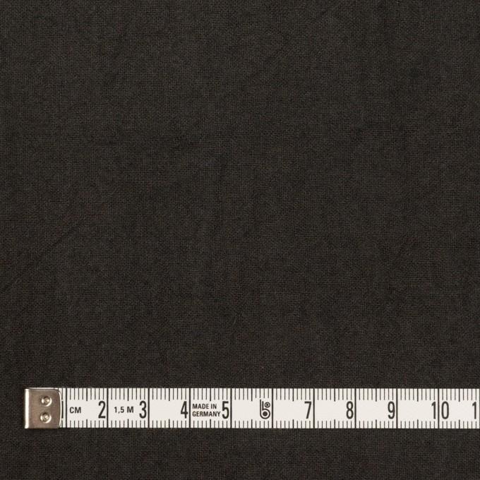 リネン×無地(チャコール)×薄キャンバス・ワッシャー イメージ4