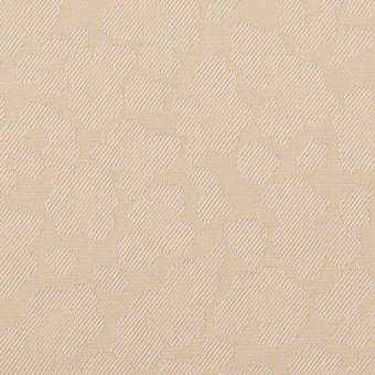 コットン&ポリエステル混×レオパード(ベージュ)×ジャガード・ストレッチ