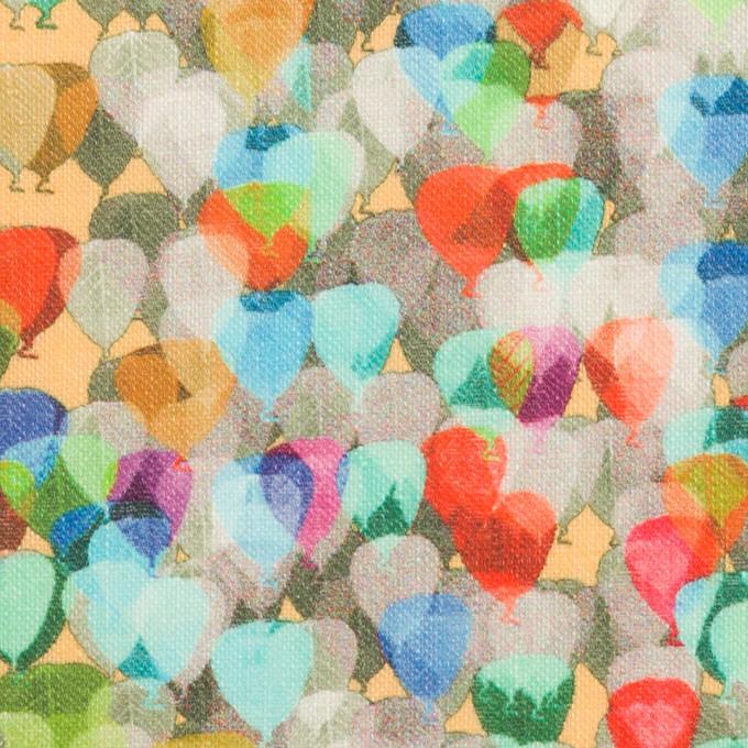 リネン×バルーン(ブルー&ネープルス)×薄キャンバス_全3色 イメージ1
