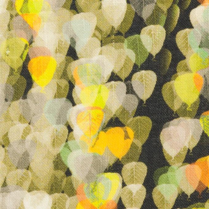 リネン×バルーン(ライム&チャコール)×薄キャンバス_全3色 イメージ1