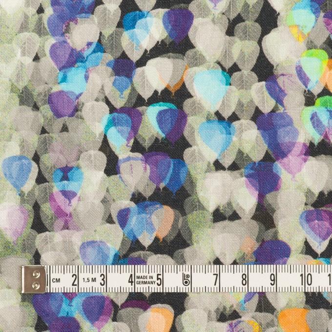 リネン×バルーン(パープル&チャコール)×薄キャンバス_全3色 イメージ4