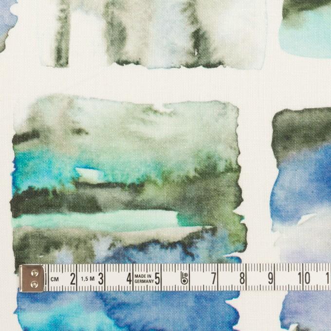 リネン×スクエア(ブルー)×薄キャンバス_全3色 イメージ4