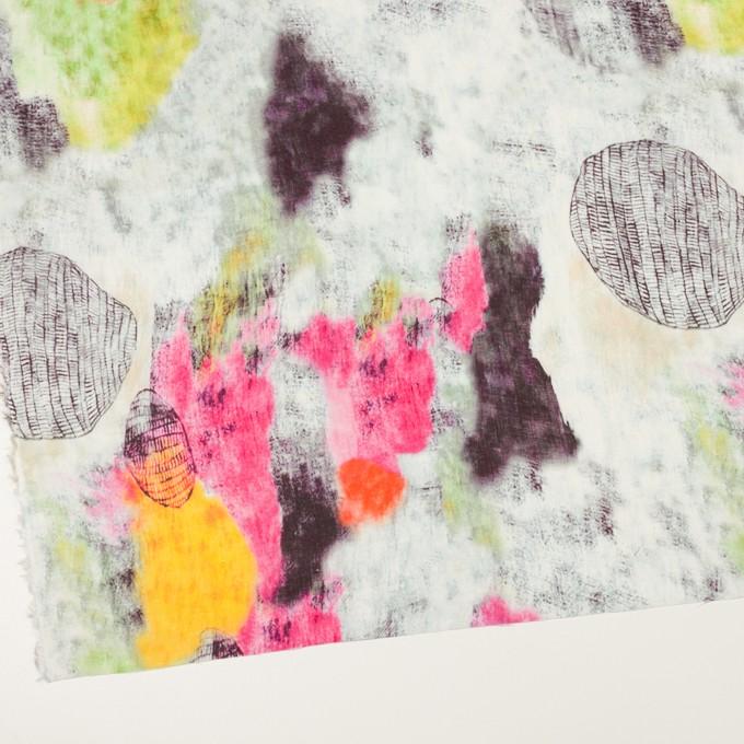 リネン×シェル(ピンク&ライム)×薄キャンバス_全3色 イメージ2